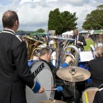Bugle Silver Band at St Ewe Country Fair