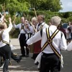 Morris Dancers at St Ewe Country Fair