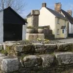 St Ewe Cross and Steps