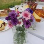 Flower Arrangment at St Ewe Village Fete