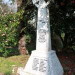 WW1 Cross at St Ewe Church