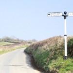 Iron Finger Post in St Ewe