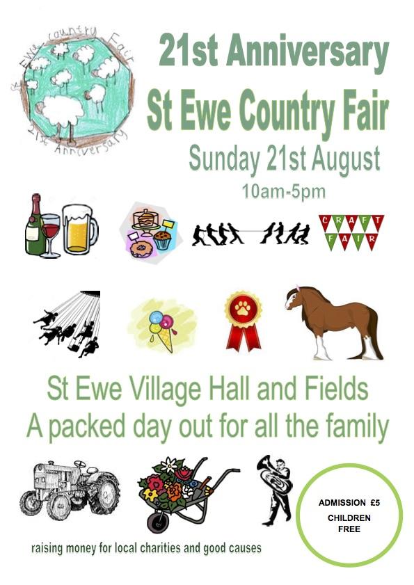 St Ewe Fair 2016 – 21 August 2016
