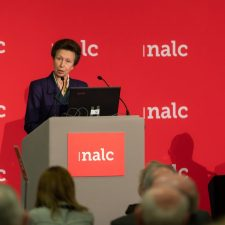 Princess Anne addressing NALC on 125th anniversary of parish councils